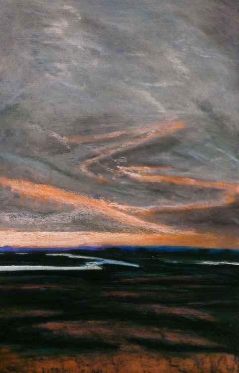 Rye Harbour Pastel No.3 -