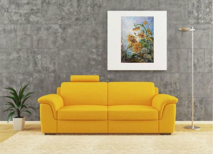 Sunflowers . Maturity - Image 0