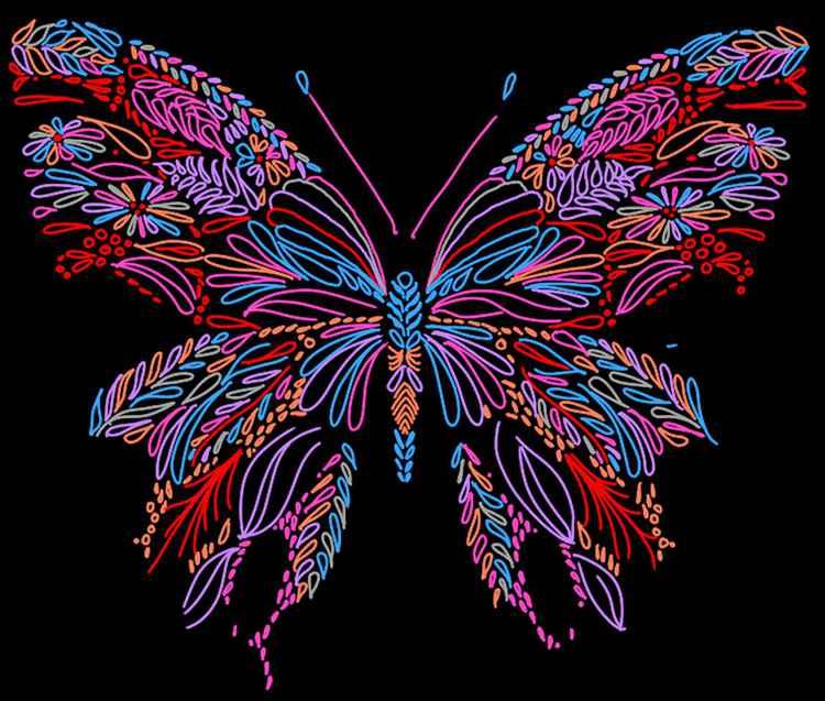 Be happy like a Butterfly