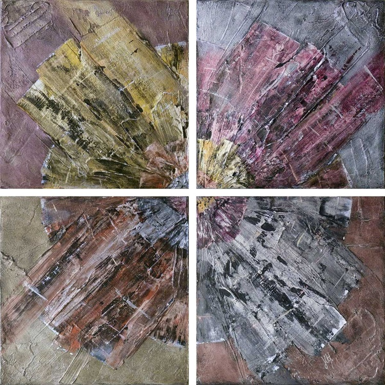 Rotation (tetraptych on canvas) - Image 0