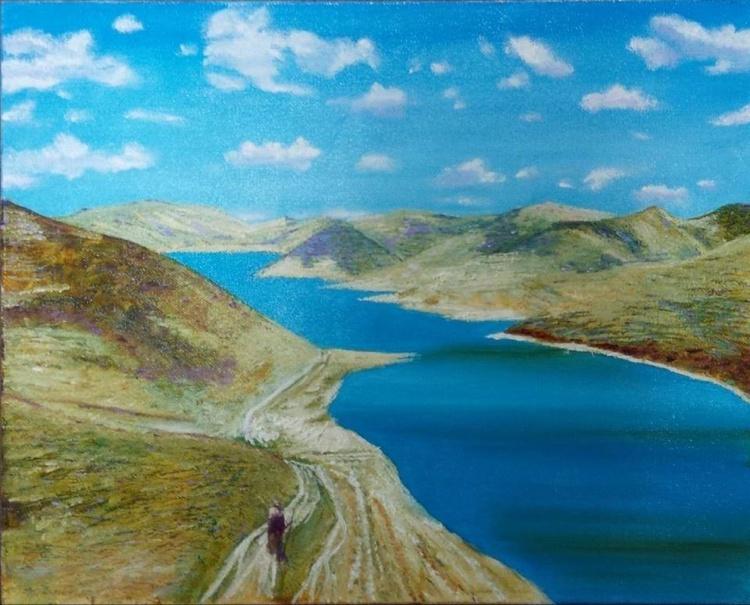 The Saint lake in Tibet - Image 0