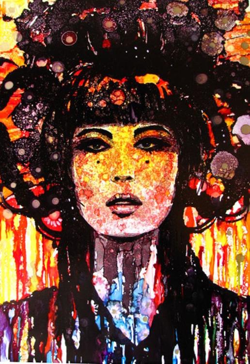 """""""Psychedelic Geisha"""" - Image 0"""