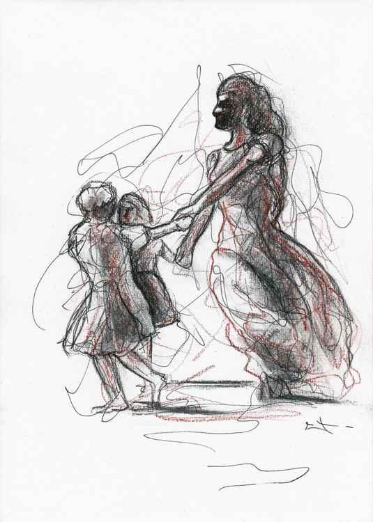 """Sketch """"Danse"""" -"""