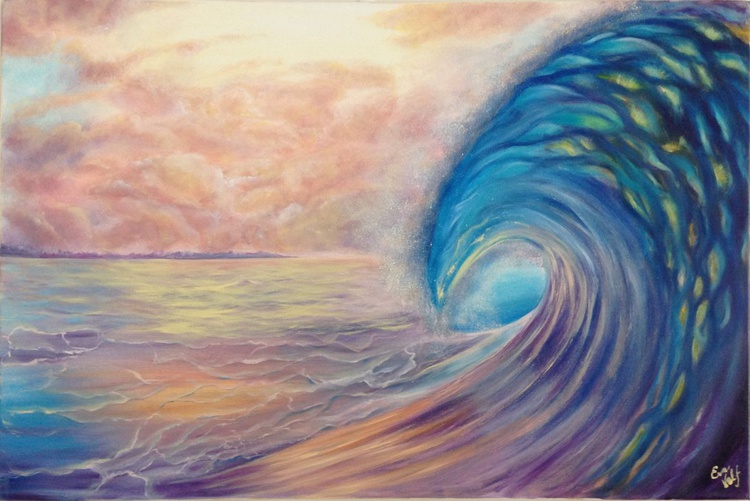 """The Breath of the Ocean 24x36"""" - Image 0"""