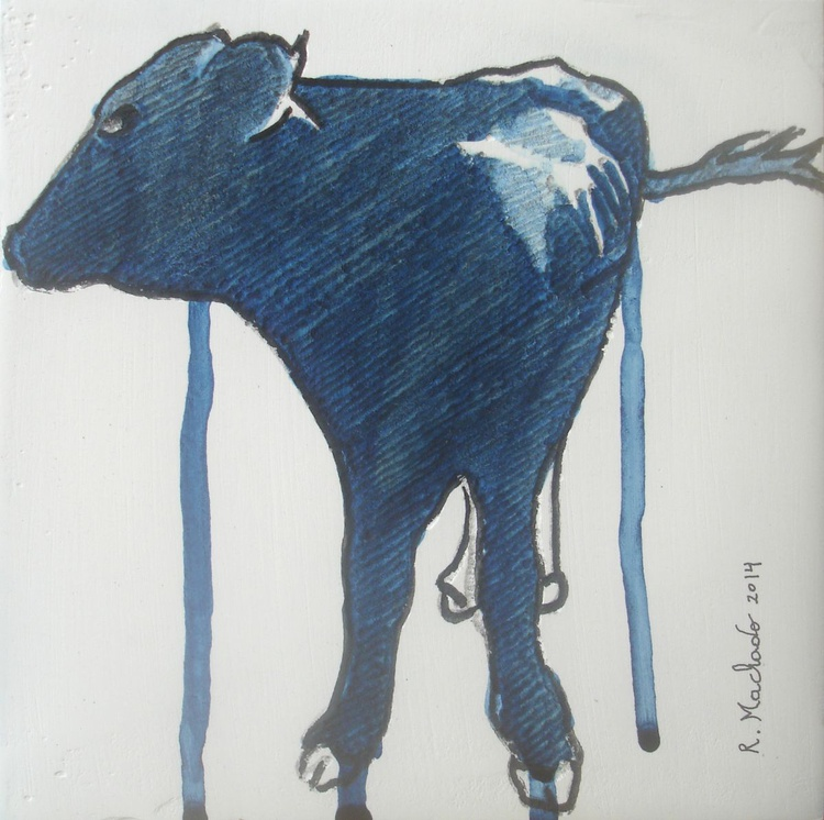 Cow Carved XII - Image 0