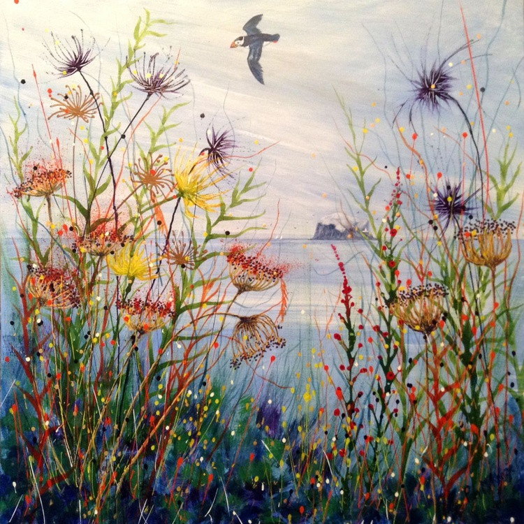 Wildflowers and The Puffin - Image 0