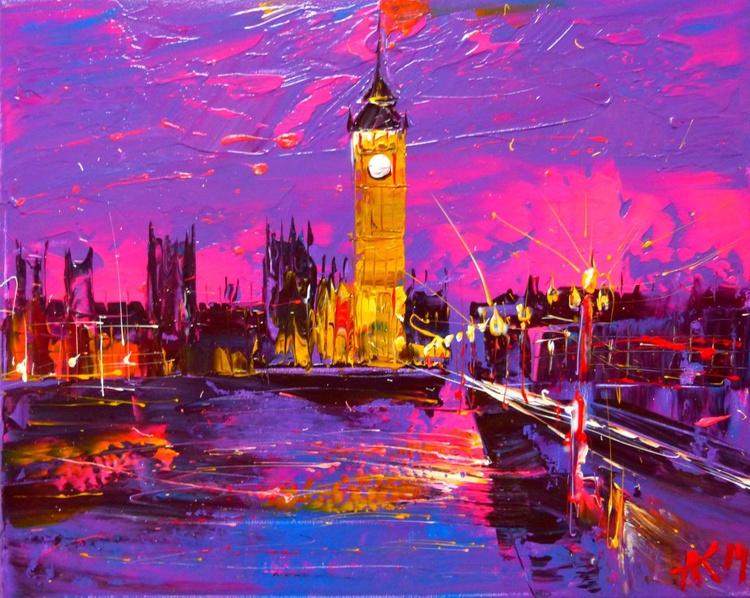 London, original painting - Image 0