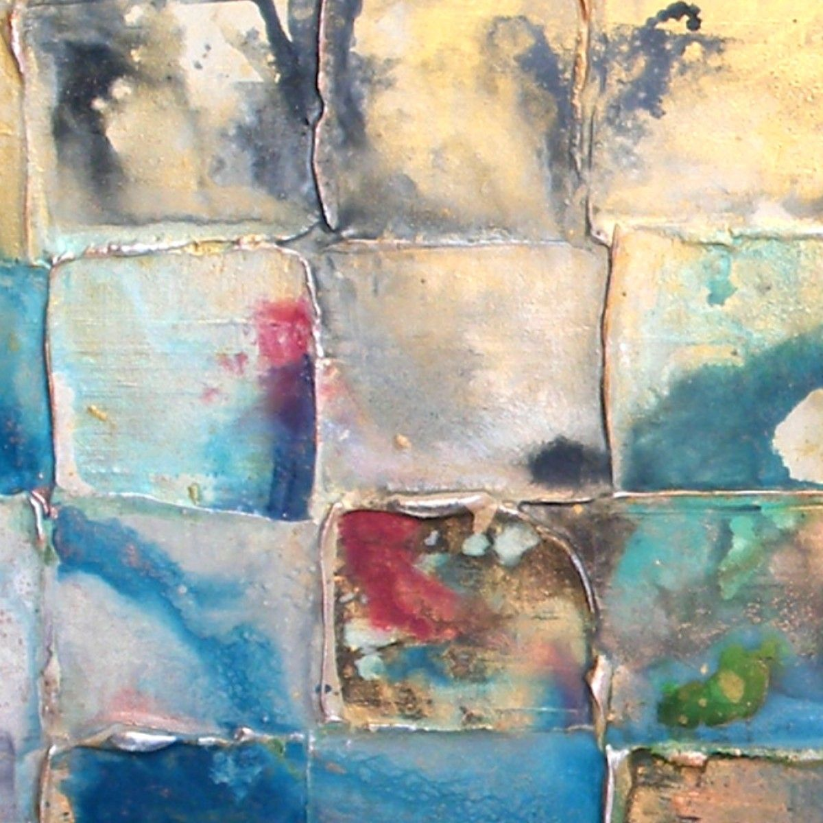 Urban Decay 2016 Acrylic Painting By Caroline Ashwood