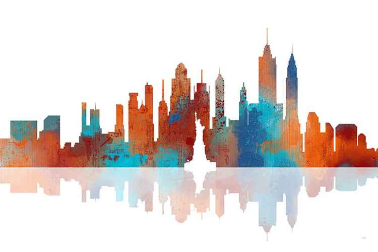 New York Skyline 1 -