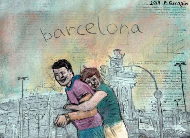 Barcelona. Plaça d'Espanya