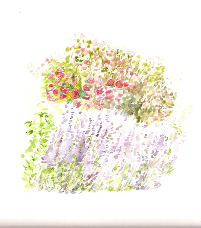 Lavender and Roses - Image 0