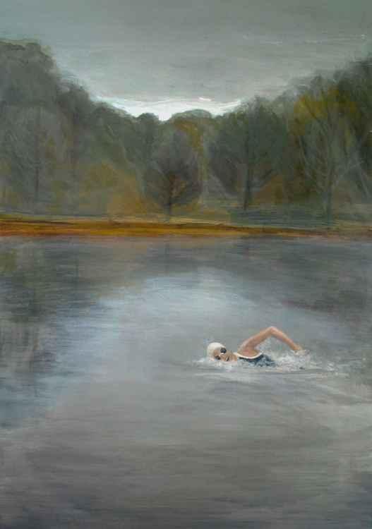 La nageuse de l'aube    (Cat N° 5090) -