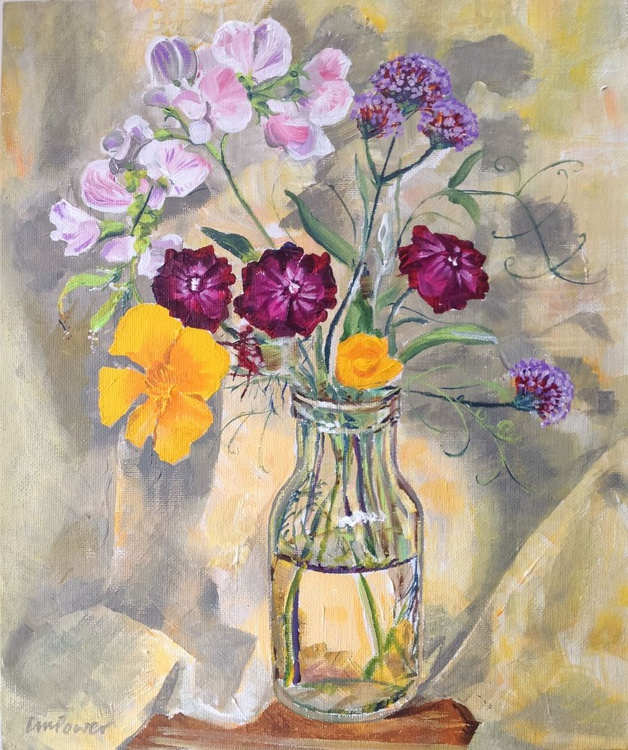 Garden bouquet - still life - Image 0