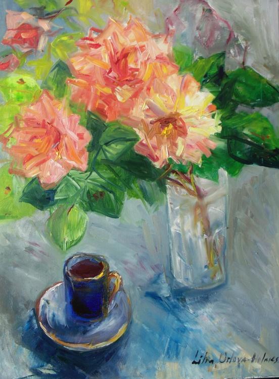 Scented rose and espresso. - Image 0