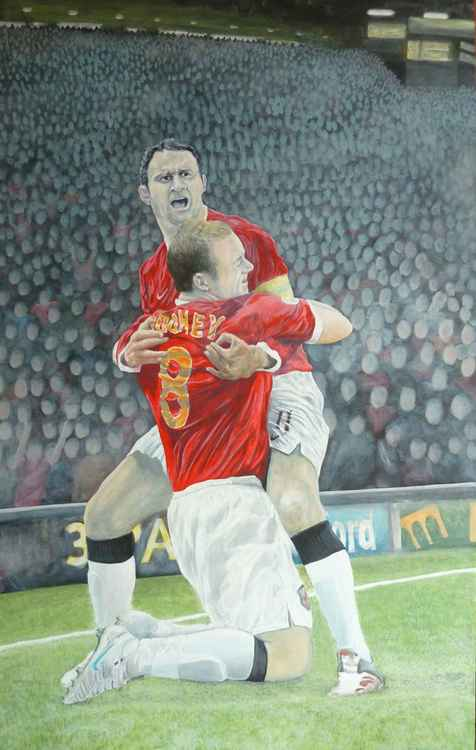 Heroes No3 (Giggs/Rooney) Football.