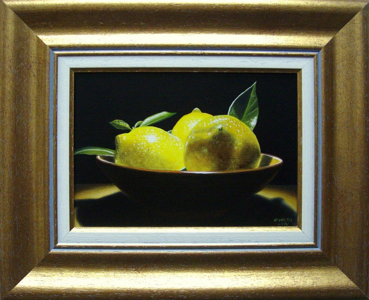 Cup of lemons - Image 0