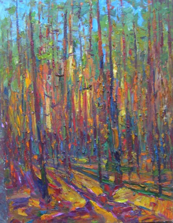 Pines, 61x81 cm, sent from office Artfinder! - Image 0