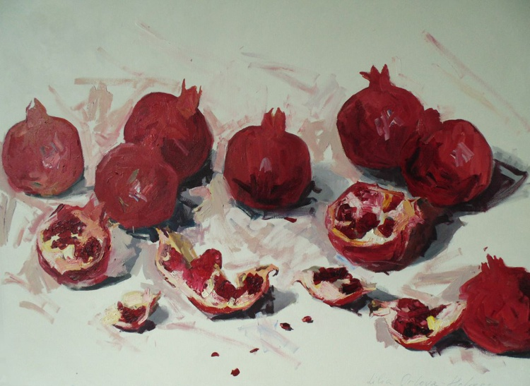 Love of pomegranates - Image 0