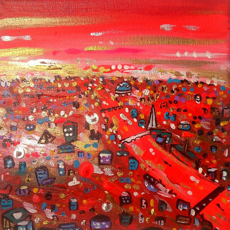 Bright Red City - Image 0