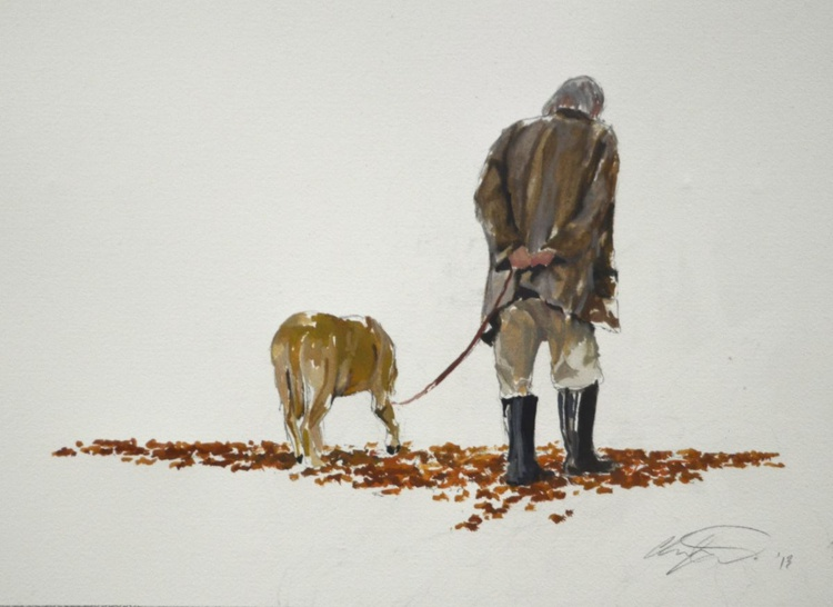 One man and his dog - Image 0