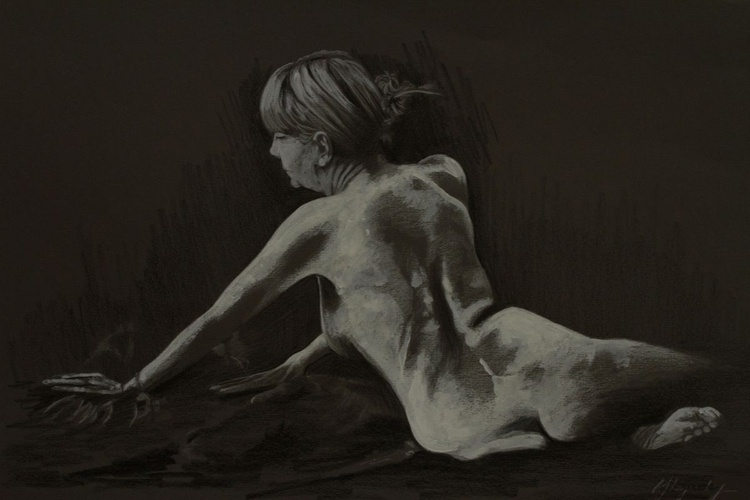 Reclining Nude (Helen) - Image 0