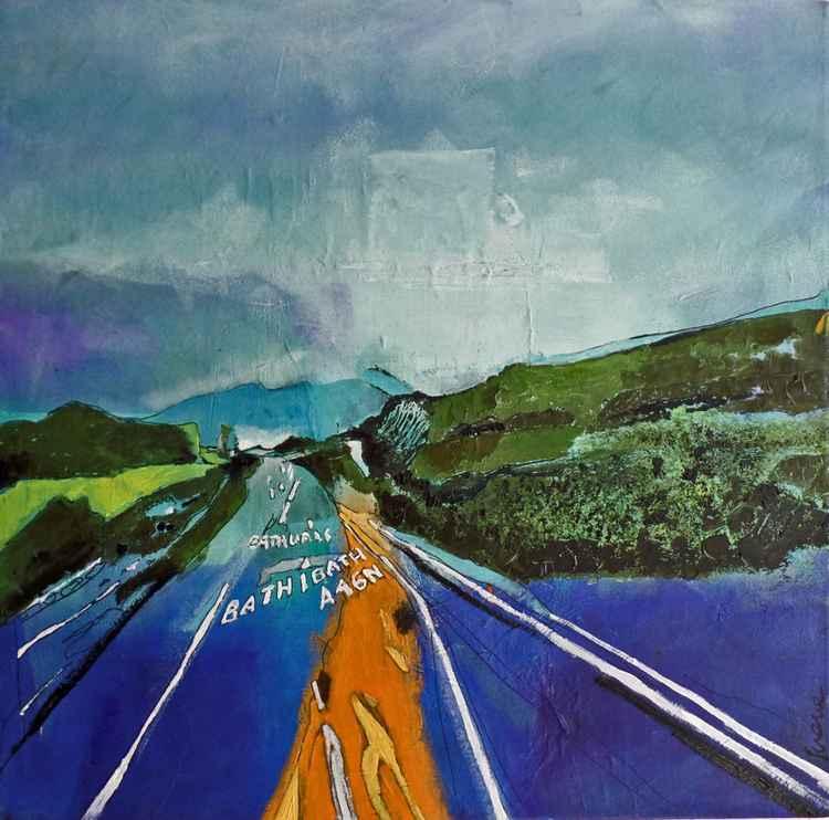Motorway Junction to Bath -