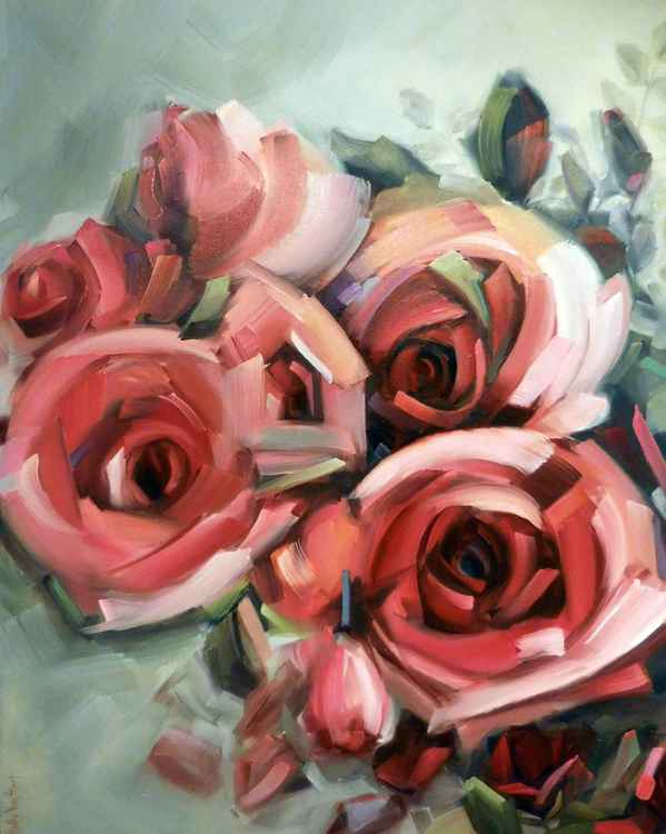 Amid the Scent of Roses -