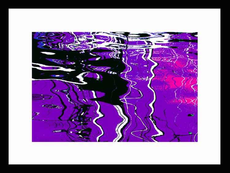 Natural Abstracts - Marina Reflections number 4 - Mini -