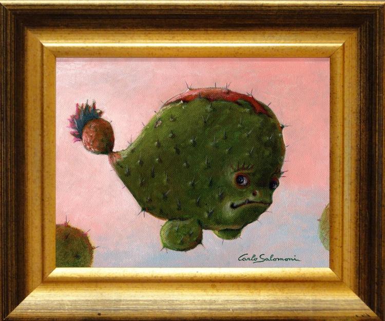 CACTUS FISH -(framed) - Image 0