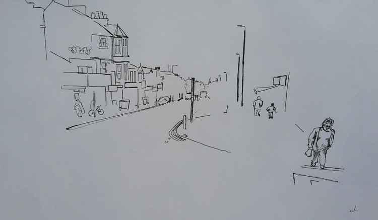 Cowley Road midday -