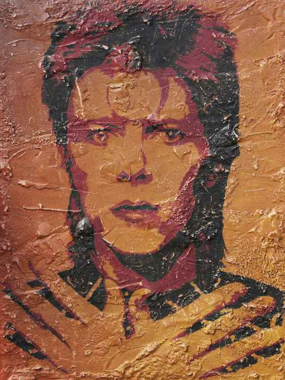 David Bowie - Rock Art
