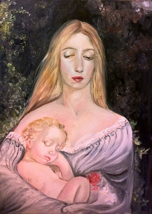 Mother with her child - Image 0