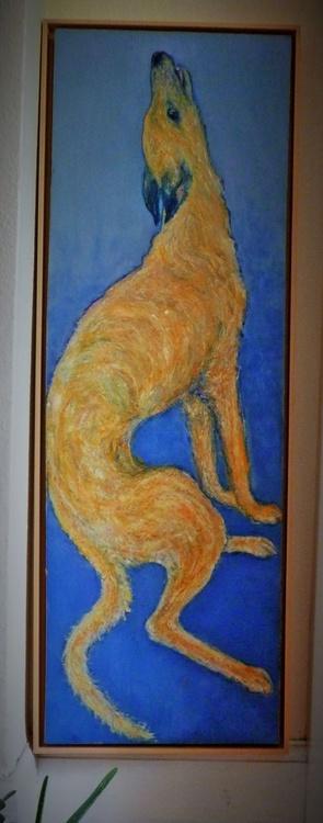 Long Dog 40 x 120 cm - Image 0