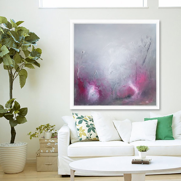 Textured abstract painting passion bomb - Image 0