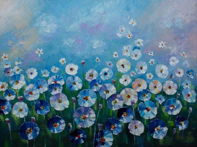 Midsummer Poppies -
