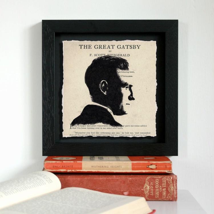 F. Scott Fitzgerald - The Great Gatsby (Framed) - Image 0