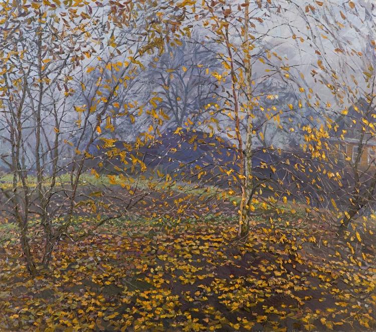 Rain. Last Leaves - Image 0