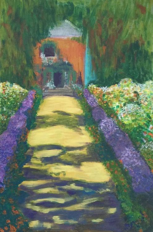 Orange Villa (After Monet) - Image 0