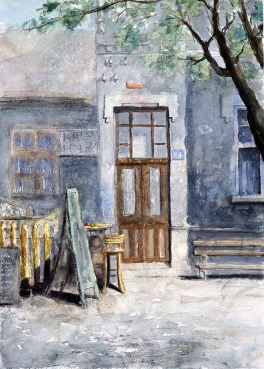 Skadarska 28, Belgrade - original watercolor painting - Image 0