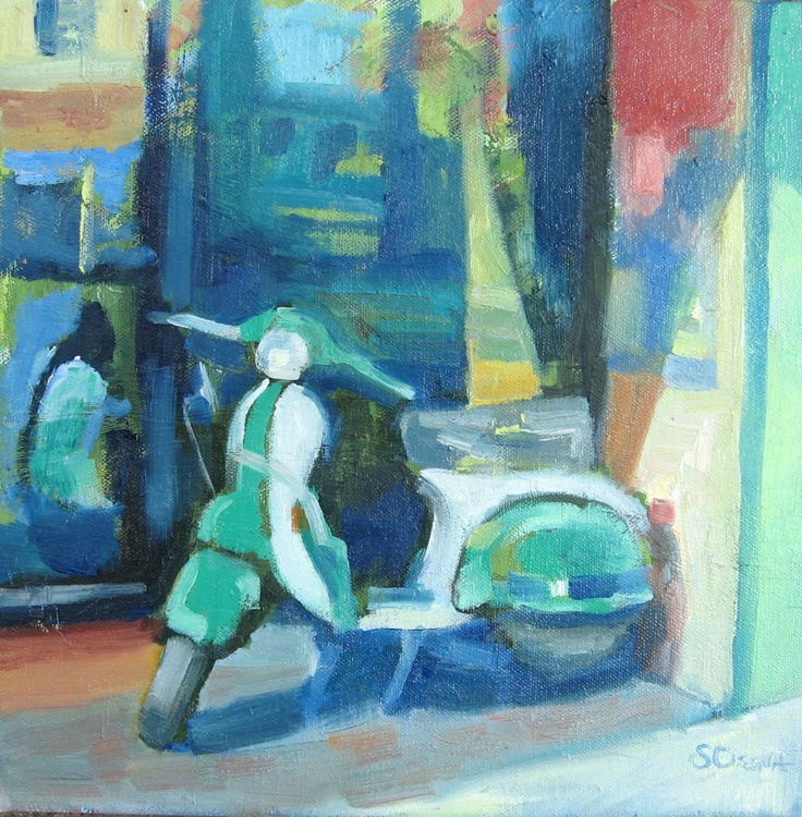 The Green Scooter - Image 0