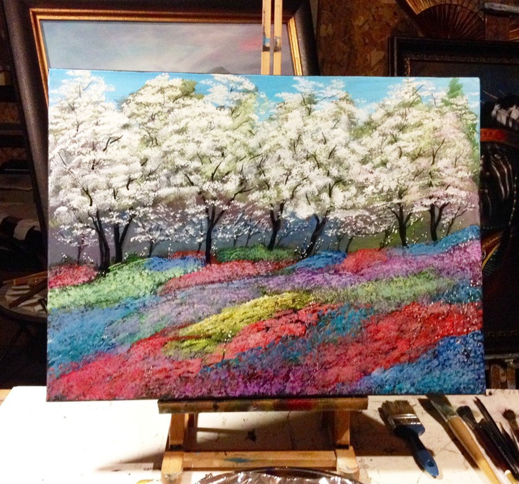 Dogwoods and  Wildflowers!- (Reduced Price) - Image 0