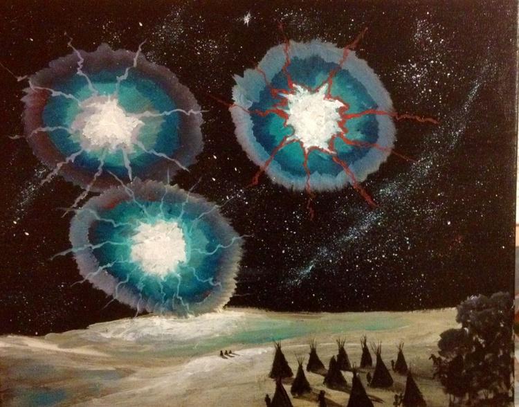 3 Moons Rising - Image 0