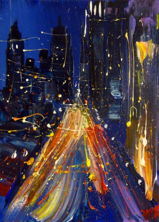 Night City, 25x35 cm - Image 0