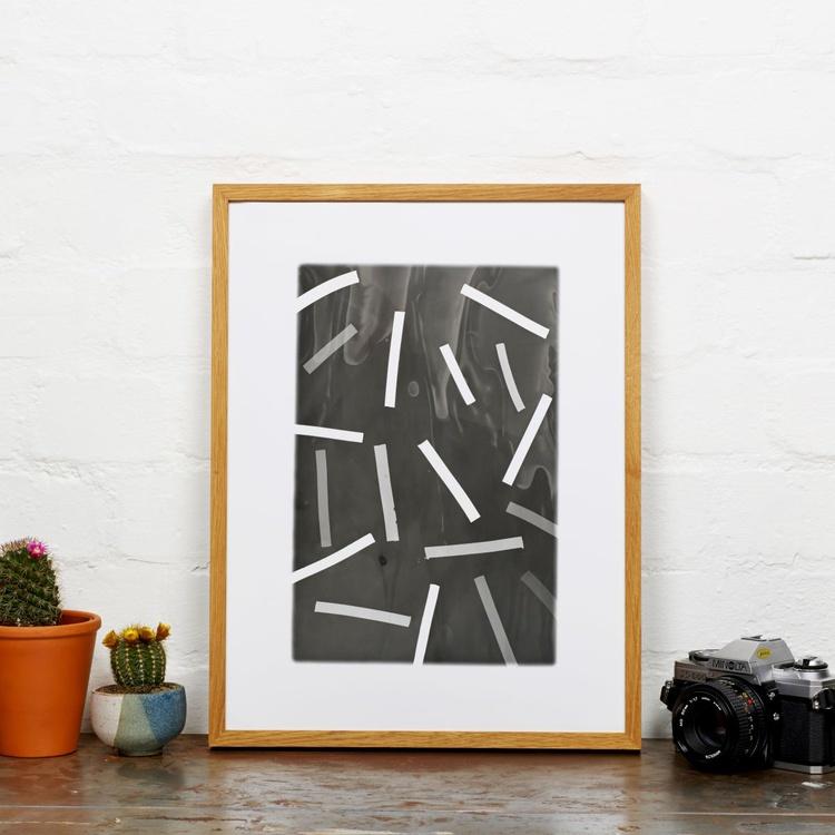 Original Darkroom Work Abstract A3 - Image 0