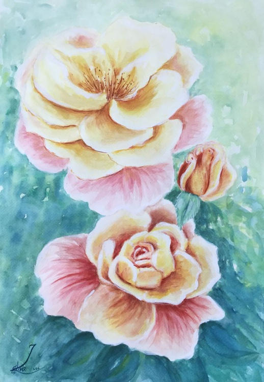 Friendship of Nice Roses - Image 0