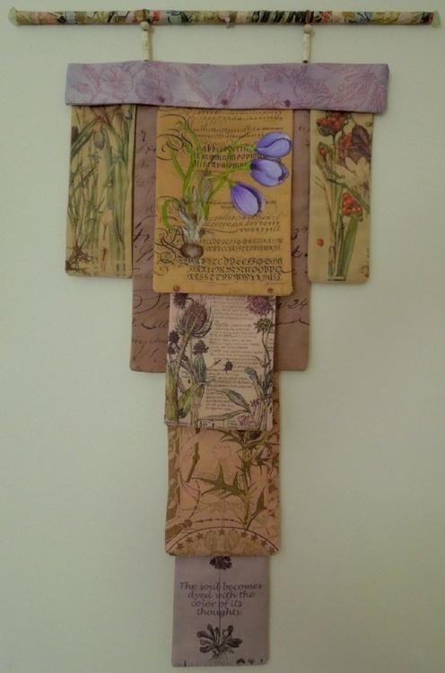 Fabric Botanical Wallhanging - Image 0