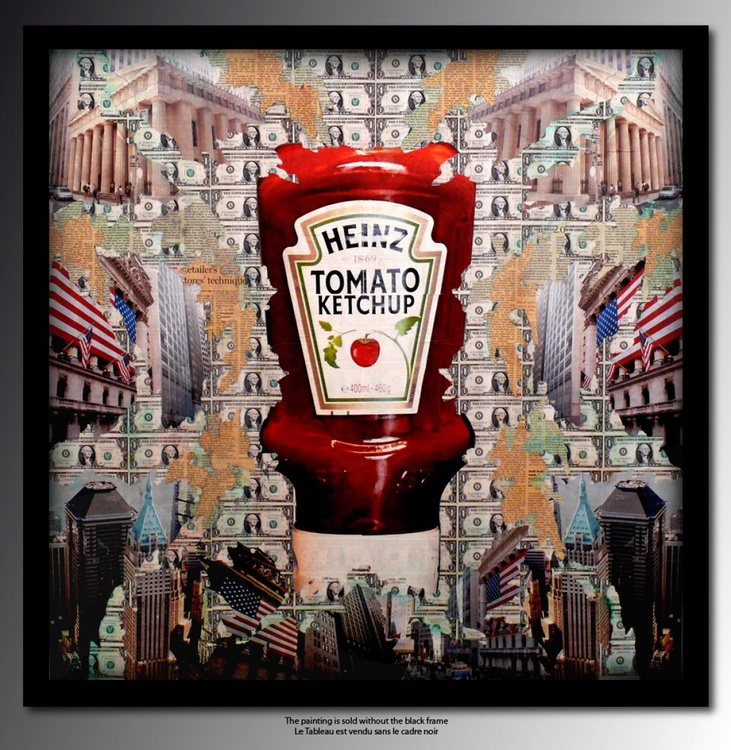 Tehos painting - Heinz tomato Ketchup 54 - Image 0