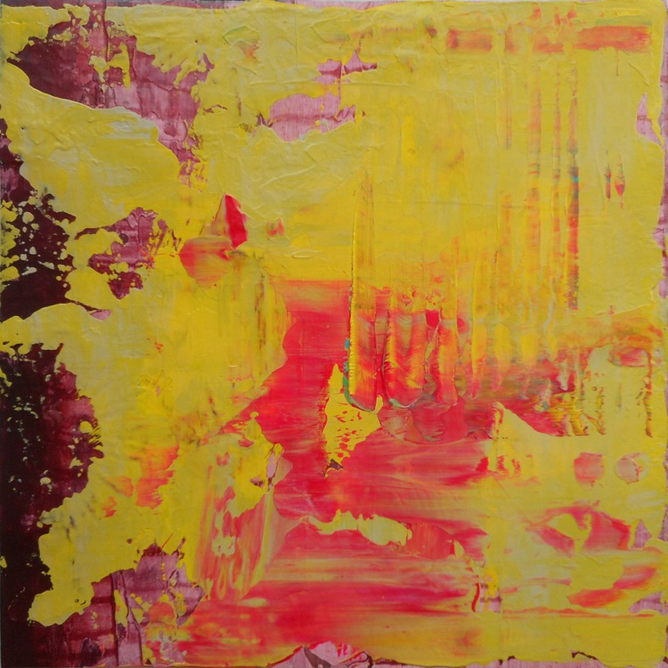 """Bliss - 12x12"""" - READY TO HANG - GIFTABLE ART - Image 0"""