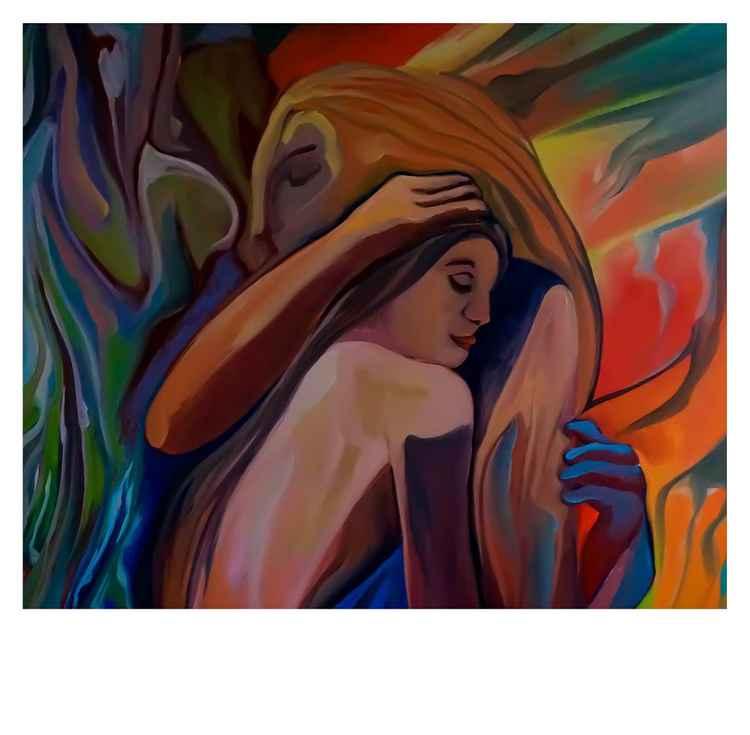 Dissolvenza, olio su tela,80x80cm,2015
