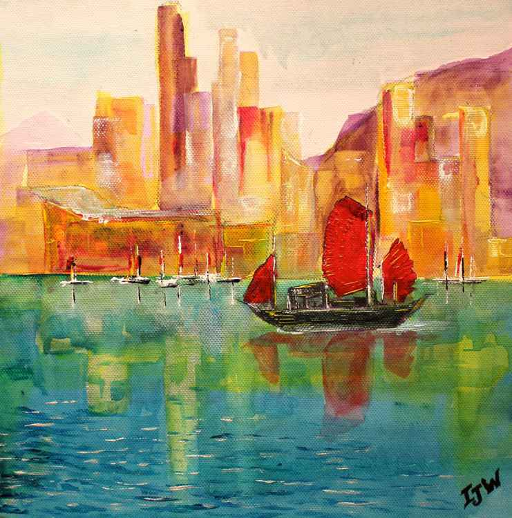 Oriental Harbour Sunset